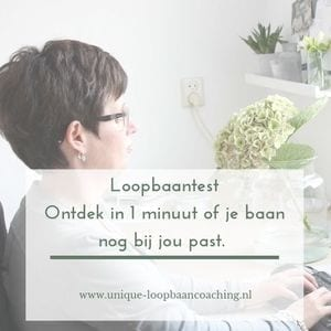Loopbaantest Unique-loopbaancoaching