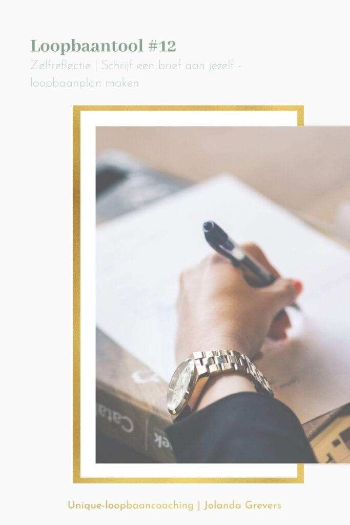 Loopbaanplan maken | Zelfreflectie - schrijf een brief aan jezelf | Unique-loopbaancoaching